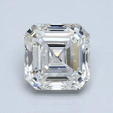 1.30 Carat 上丁方形 Diamond 非常好 G VVS2