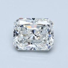 1,03-Carat Radiant Diamond Very Good G IF