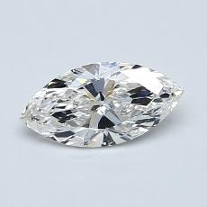 Recommended Stone #3: 0,58-Carat Marquise Cut Diamond