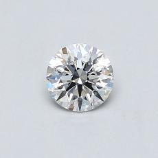 0.32 Carat 圆形 Diamond 理想 F VS2