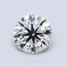 1,00 Carat Rond Diamond Très bonne I VS1