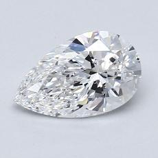Recommended Stone #3: 1.09-Carat Pear Cut Diamond
