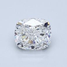 1.01-Carat Cushion Diamond Good E VS2