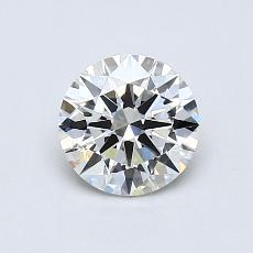 0.72-Carat Round Diamond Ideal H VVS2