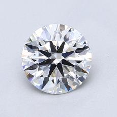 1.02 Carat Redondo Diamond Ideal D VS2