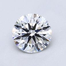 1.02 Carat 圓形 Diamond 理想 D VS2