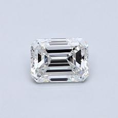 Recommended Stone #1: 0.51-Carat Emerald Cut Diamond