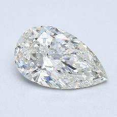 0.79 Carat 梨形 Diamond 非常好 I VVS2