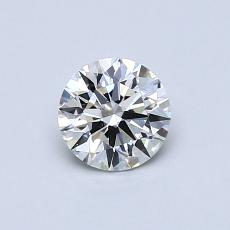 Recommended Stone #1: 0,53-Carat Round Cut Diamond
