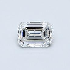 Recommended Stone #1: 0,50-Carat Emerald Cut Diamond