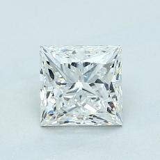 Recommended Stone #1: 1,01-Carat Princess Cut Diamond