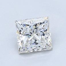 Recommended Stone #2: 1.11-Carat Princess Cut Diamond
