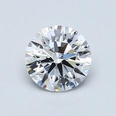 Recommended Stone #1: 0.84-Carat Round Cut Diamond