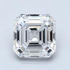 Recommended Stone #4: 1.70-Carat Asscher Cut Diamond