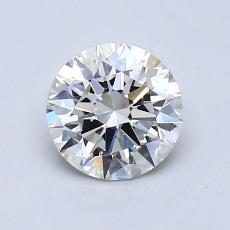 推荐宝石 4:1.01克拉圆形切割钻石