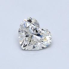 0,50 Carat Corazõn Diamond Muy buena K SI1