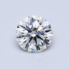 0.74-Carat Round Diamond ASTOR G VVS1