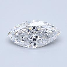 0.70-Carat Marquise Diamond Very Good D VS1
