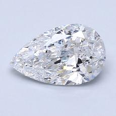1.20-Carat Pear Diamond Very Good D VS2