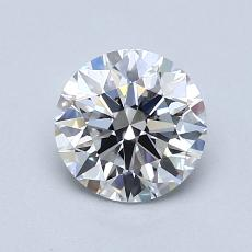 1.04-Carat Round Diamond Ideal E VVS1