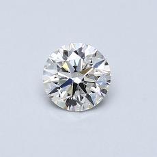 推荐宝石 2:0.42克拉圆形切割钻石