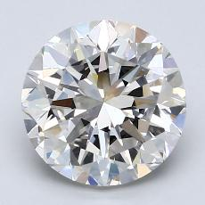 Recommended Stone #4: 2.65-Carat Round Cut