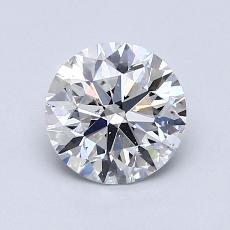 1.20-Carat Round Diamond Ideal D VS2