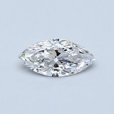 Recommended Stone #4: 0.33-Carat Marquise Cut Diamond