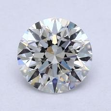 1,30-Carat Round Diamond Ideal H VVS2