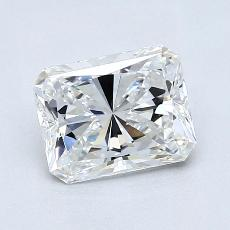 Recommended Stone #1: 1,31-Carat Radiant Cut Diamond