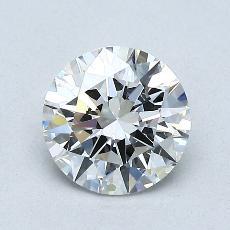 1.02-Carat Round Diamond Ideal F VVS1