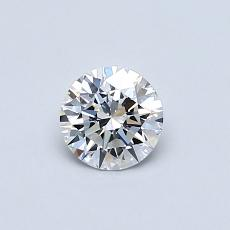 Recommended Stone #2: 0,41-Carat Round Cut Diamond