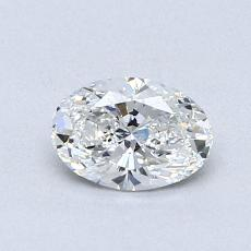 Recommended Stone #2: 0.62-Carat Oval Cut Diamond