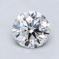 1.01 Carat 圓形 Diamond 理想 E SI1