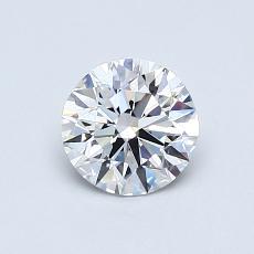 0.73-Carat Round Diamond Ideal E IF