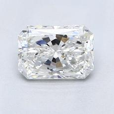1,00-Carat Radiant Diamond Very Good G VS1