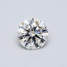 0.51 Carat 圆形 Diamond 理想 E VVS2