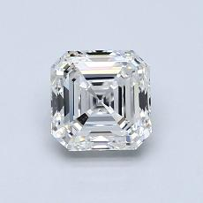 1.01-Carat Asscher Diamond Very Good G VVS1