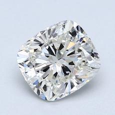 Pierre recommandée n°4: Diamant Taille coussin de 1,30carat