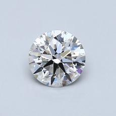 0.60 Carat 圆形 Diamond 理想 G VVS2