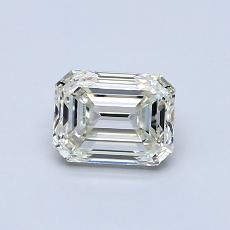Recommended Stone #3: 0,76-Carat Emerald Cut Diamond