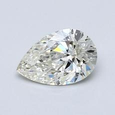 Recommended Stone #1: 0,70-Carat Pear Cut Diamond