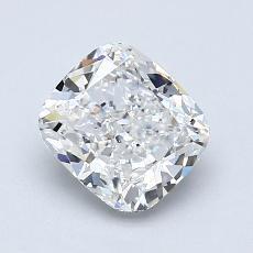 1.31-Carat Cushion Diamond Very Good F SI1
