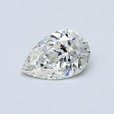 0.51-Carat Pear Diamond Very Good G VS2