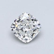 0.90 Carat クッション Diamond ベリーグッド F VVS1