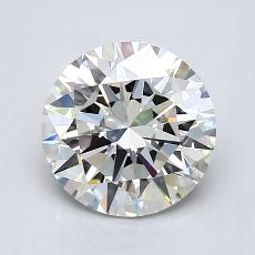 1,50-Carat Round Diamond Ideal I VS1