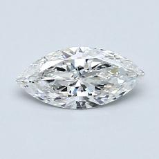 0,51-Carat Marquise Diamond Very Good F SI2