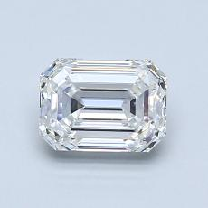 Recommended Stone #4: 1.05-Carat Emerald Cut Diamond