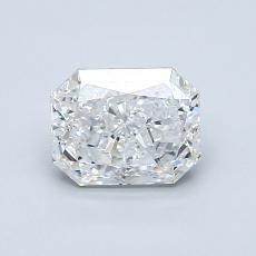 1,00-Carat Radiant Diamond Very Good G SI2