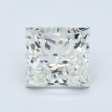 1,50-Carat Princess Diamond Very Good I VS1